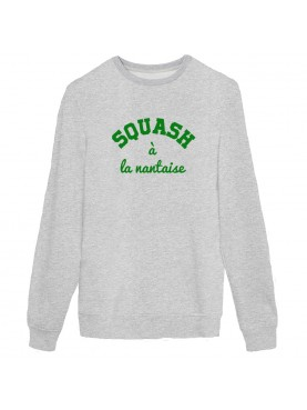 Sweat gris squash à la nantaise